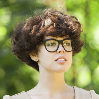 4 Hipster Short Hairstyles For Curly Hair 2014